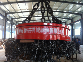 吊废钢用起重电磁铁