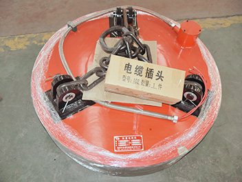吊废钢用起重电磁铁-强磁型
